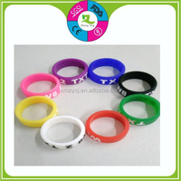 Wholesale Promotion Giveaways Cheap Custom Silicone men's ring Wedding Ring