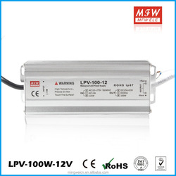 UL TUV Approved 12v 80w waterproof led power driver Constant Voltage LED strip power supply with Ce approved