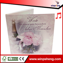 A4 Size Music Wedding Invitation Cards Wholesale Germany