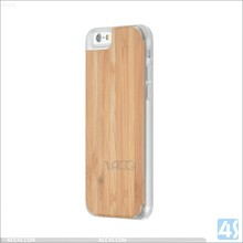 Bamboo & Wood PC Back Cover Case Shell For iPhone 6 4.7""