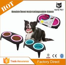 Pet bowl collapsible Water dog Bowl