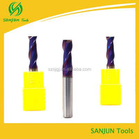 2 Flutes 8mm CNC Precision Machining/carbide router cnc Square End Milling Cutter