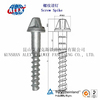Railroad Drive Screw Spike supplier,Screw Spike Tie Nail,railway products