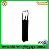 wholesale cheap non woven wine bag/gift beer wine bottle bag
