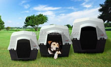 plastic pet house fully waterproof and can be placed directly on the ground