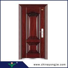 Zhejiang yongjie swing surface finished exterior steel doors and windows
