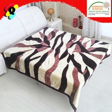 100% polyester blanket hot selling polyester animal printed mink blanket blanket polyester