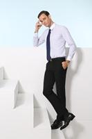 China Manufacturte Factory Wholesale boys 100% cotton dress shirts