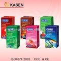 Condones de látex natural, condones masculinos de látex