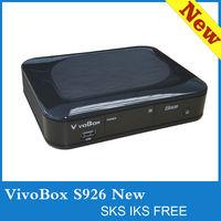 Digital satellite decodersaz box bravissimo/ vivobox s926 with IKS / sks decoder nagra3 stable than azbox bravissimo hd tocomsat