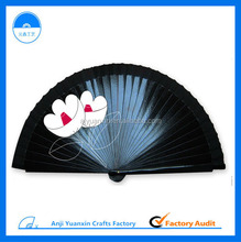 European Fashion Hand Fan Outdoor Wood Crafts