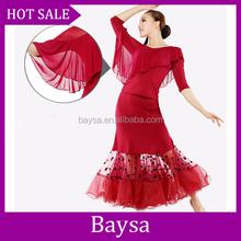 Gros costume de danse, Femme ballroom latine danse robe lyrical de danse robes BC511