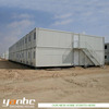 Light steel structure two storey mobile house