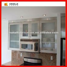 professional stainless steel kitchen cabinet pantry cupboard