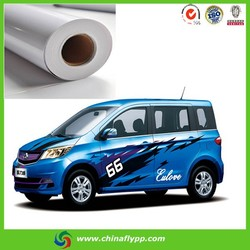 FLY china alibaba 10140 removeble glue, vinyl banners self adhesive pvc vinyl stickers car cover vinyls