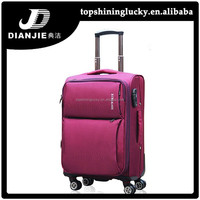 Hot sale trolley bags factory price ABS travel luggage