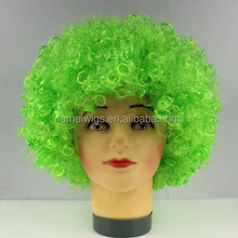 Fluffy Wig Hair Curl Wigs Afro Children Wig Synthetic Fiber Hairpiece Party