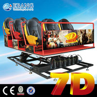 New interactive stereo attraction 7d home theatre