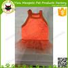 summer Gauze veil cheap dog cloth pet dress