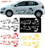 new design reflective Custom car sticker, car body sticker, vinyl sticker for car