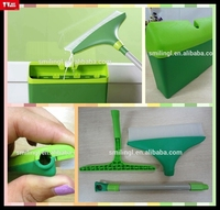 window cleaning squeegee magic multifunctional glass cleaning wiper collect dirty water into plastic drum no water in clothing