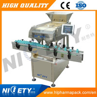 Automatic softgel capsule counting machine