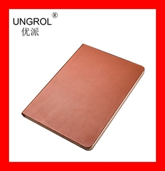Italy import cow layer leather for tablet Bady face felling leather for smart tablet fit for Ipad mini