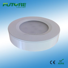3W dimmable SMD 2835 led kitchen cabinets design puck light