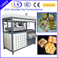 Guangzhou Factory semi-auto chocolate tray plastic Forming Machines