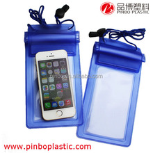 High sealed,HD picture under water 10M waterproof phone case, Promotional PVC Waterproof Bag