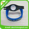Hot sale promotional energy silicon charm bracelet 2015