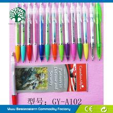 Metal Advertising Banner Pen, Most Popular Banner Pen, Pull Out Banner Scroll Pen