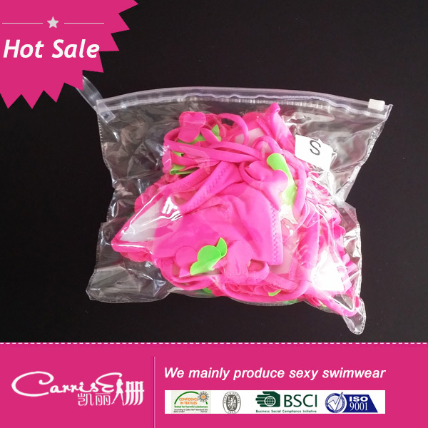 2014 Wholesale latest hot sale Halter Bikini girl
