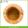 Food-grade bamboo/wooden sugar salt container/ HOMEX - BSCI