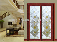 sliding door glass in large size with ISO9001,IGCC,CE