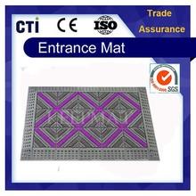 Anti Slip Ribbed Door Entry EVA Brush Plastic Rubber Flooring Mat