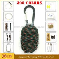 paracord emergency survival gear for outdoor