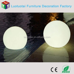 2015 new design 80cm big ball led light with 16 rgb color changing for pool