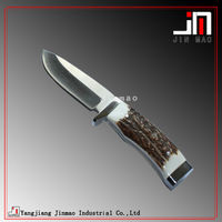 High Quality Buckhorn Handle Hunting Knife