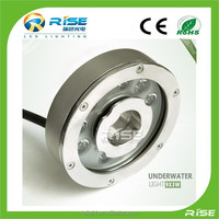 high quality stainless steel RGB led underwater light,9*3W pond led fountain lights ip 68