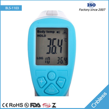 BLS1103 best selling digital infrared thermometer for human body temperature