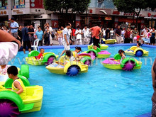 HOT !!!Kids Hand Paddle Boat/pedal Boat/bumper boat W4001