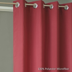 Microfiber Curtains, Curtains Microfiber Grommet, popular 100% Polyester ready made curtains
