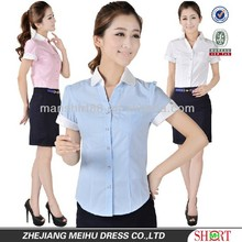 New design for women one pocket blouse