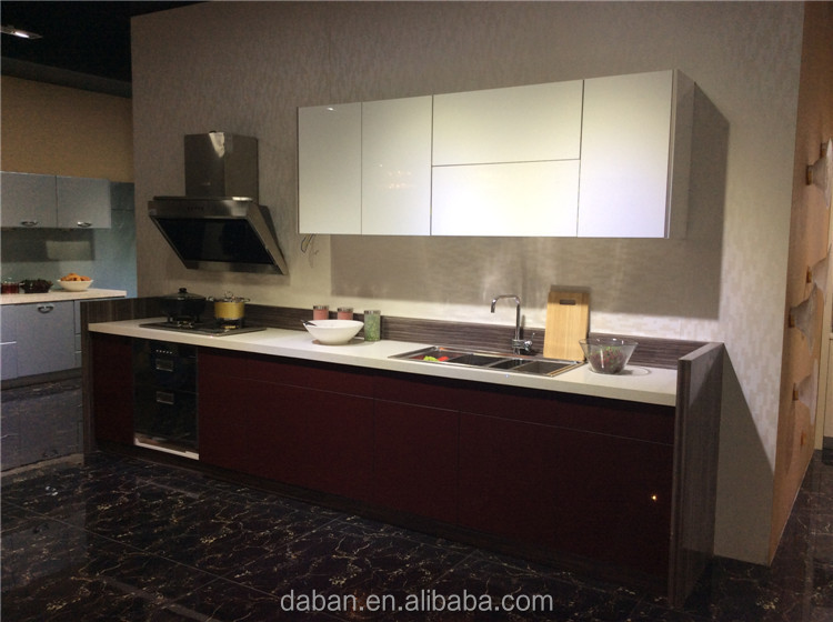 High Gloss Kitchen Cabinets Color Combination Cabinet: Uv High Gloss Kitchen Cabinet Color Combination