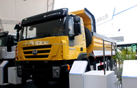 Hongyan trucks 6x4 with Iveco technology genlyon sand tipper truck for sale