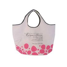 With lamination outside or inside Wholesale Reusable promo bag non woven shopping bag