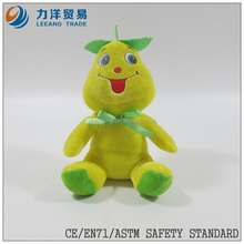 promotional toys/plush fruit and vegetables/ fantastic toys yellow fruit doll, Customised toys,CE/ASTM safety stardard