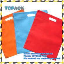 Top Quality Cheap Silk Printing PP shopping Non woven bag For Promotion