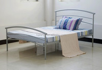 king size double metal bed